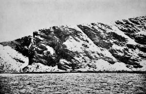 Sea Cliffs 3 - Etching, edition of 20. (28.5 x 18.5 cm)