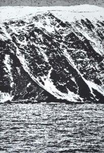 Seacliff 5 - Etching & aquatint. (18.5 x 25cm)