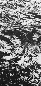 Afon 1 - Etching and aquatint, edition of 20